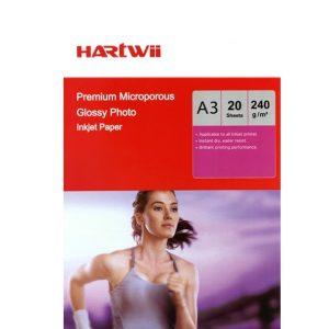 Hartwii Ultra premium parlak fotoğraf kağıdı 30×40 240 gr