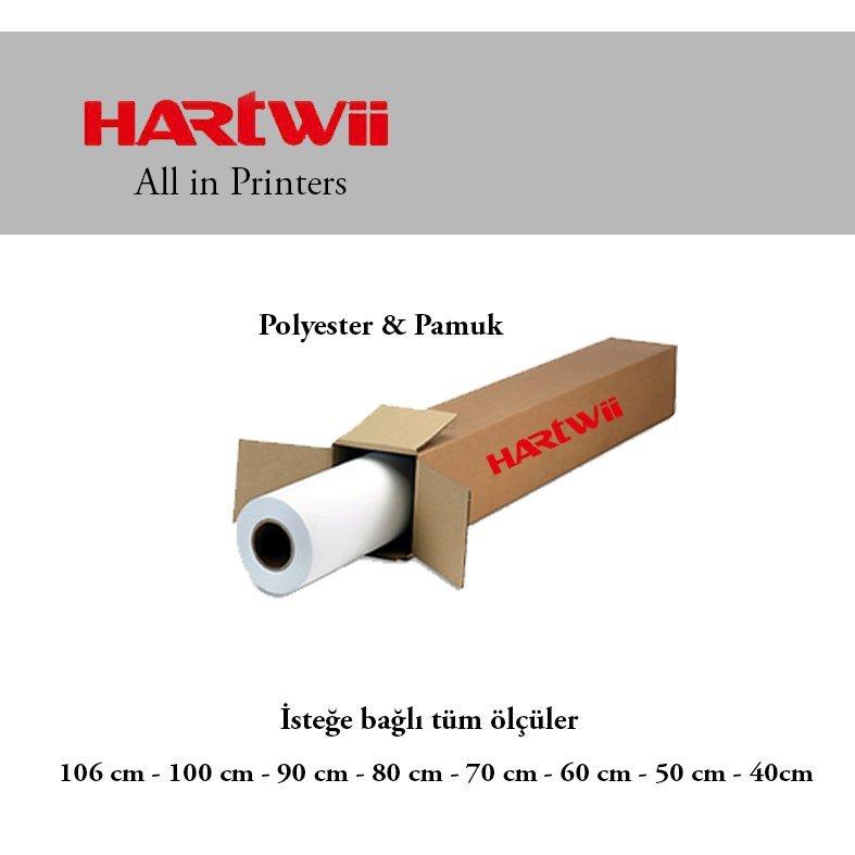 Hartwii  106cm 30 m. 280 gr Polyester & pamuk kanvas bezi