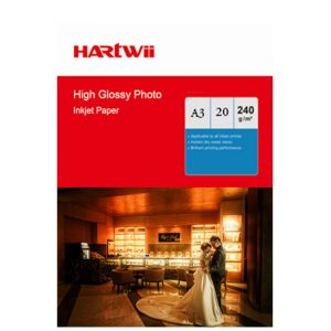 Hartwii  30×40 240 gr Premium parlak  fotoğraf kagıdı