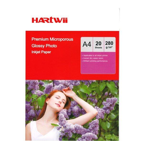 Hartwii  20×30 280gr Ultra Premium Parlak Fotoğraf Kağıdı