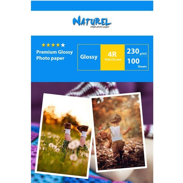 Naturel Advanced parlak  fotoğraf kağıdı 10×15 230 gr