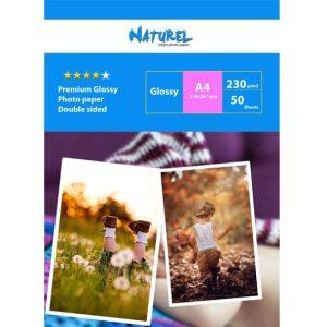 Naturel Advanced Çift Taraflı Fotoğraf kağıdı A4  ( 20×30 ) 230gr
