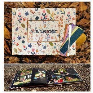 Anı Kitabı – Anı Defteri – Fotoğraf Albümü – Model 9